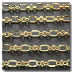 Gold Plate Romantic Style Chain