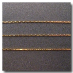 Gold Plate Fine Serpentine Chain 23 inches