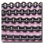 Shiny Small Round Black Chain 3.5mm