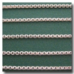 Silver Plate New Box Chain 2.5mm