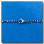 Stainless Steel Necklace | Curb Chain 3mm | 24 inch