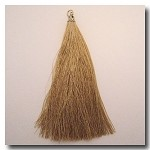1-1731  Antique Gold Tassel w/Antique Gold Tassel Cap - 3.5