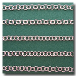 Silver Plate Small Contemporary Round Curb Chain 3.8mm
