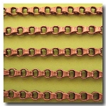 Antique Copper Ladder Chain 4.5mm