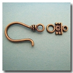 Hook and Eye Clasp | Antique Brass