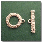Toggle Clasp | Silver Plate