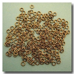 Jump Rings | Antique Brass | 3mm x 21 gauge | approx. 236 pieces