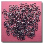 Jump Rings | Gunmetal | 3mm x 21 gauge | approx. 236 pieces