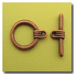 Toggle Clasp | Antique Copper