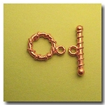Toggle Clasp | Copper Plate