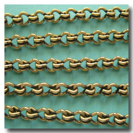 Antique Brass Large Steampunk Chain