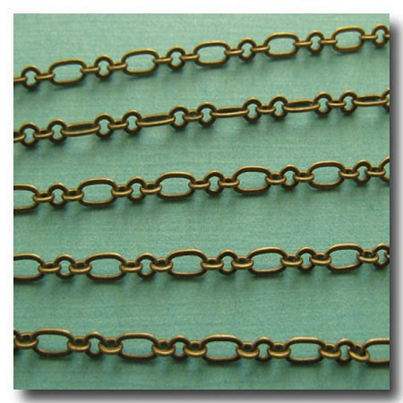 Antique Brass Romantic Style Chain