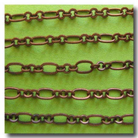 Antique Copper Romantic Style Chain