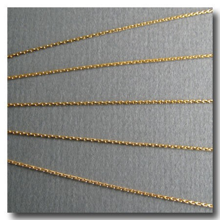 Gold Plate Beading Chain