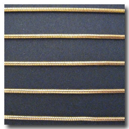 Gold Plate Snake Chain