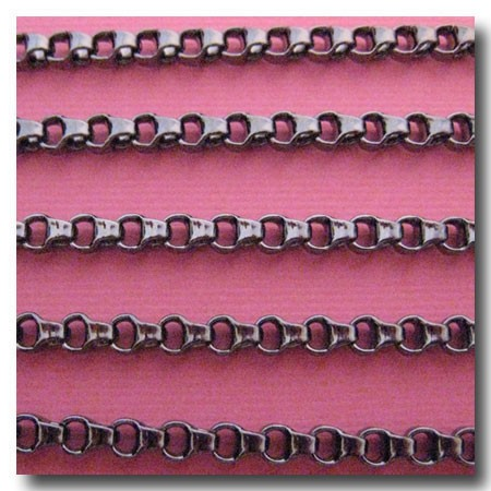 Gunmetal Ladder Chain 3.5mm