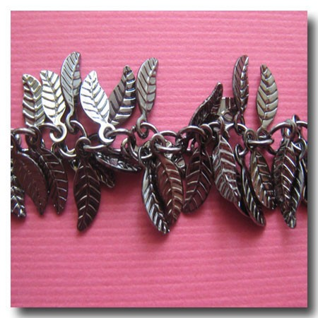 Gunmetal Leaf Chain