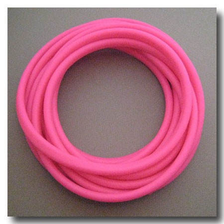 Candy Apple Pink Licorice Rubber 10mm x 6mm