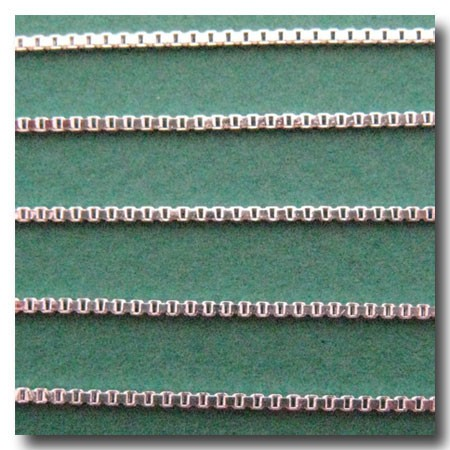 Silver Plate Edging Chain 1.2mm
