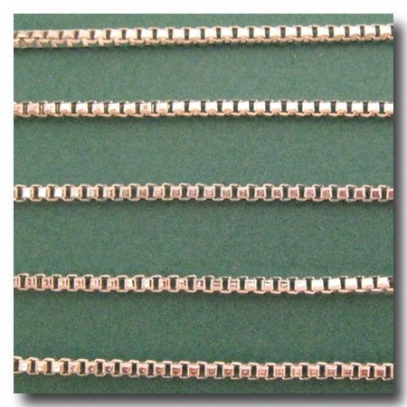 Silver Plate Italian Style Box Chain 2mm