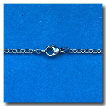 Stainless Steel Necklace | Oval Chain 2.5mm | 24 inch