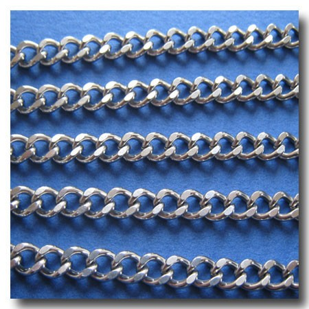 Stainless Steel Diamond Cut Cable Chain