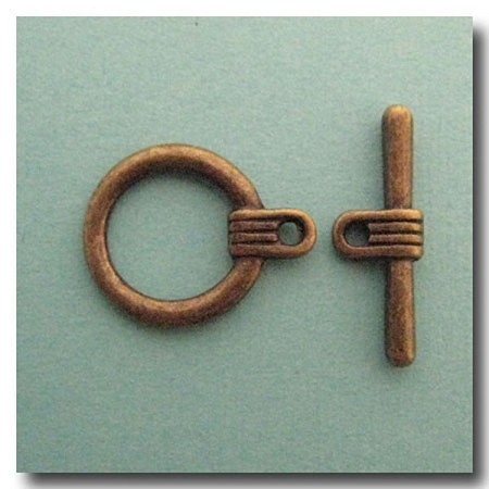 Toggle Clasp |  Antique Brass
